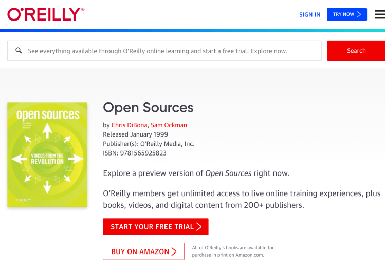 Open Sources(O'Reilly)
